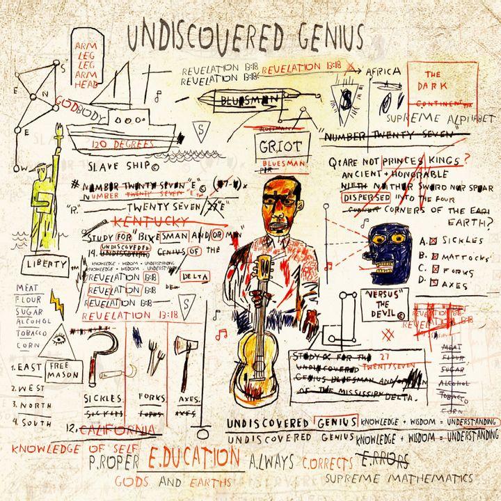 Undiscovered Genius - Revelation 13:18 × Jean-Michel Basquiat