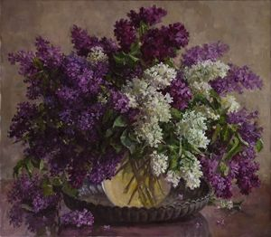 Lilacs with the salver