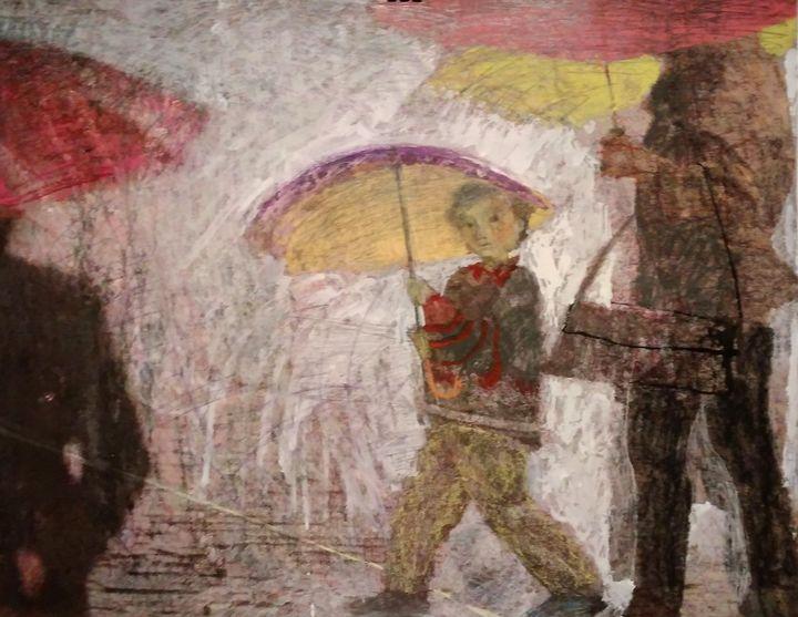 Сity rain - Yulia Svirepova