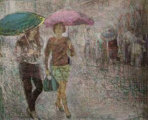 Сity rain