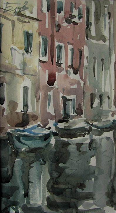 Colorful Venice - BluvshteynArt