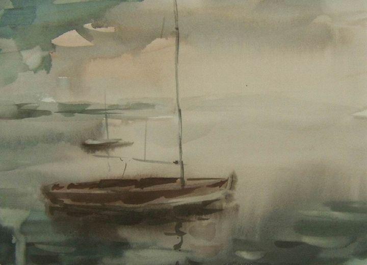 Boat - BluvshteynArt