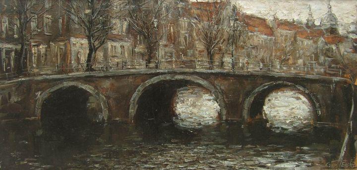 In Amsterdam - BluvshteynArt