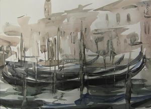 Venice. On Grand Canal
