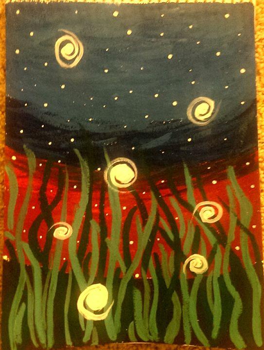Fireflies in Twilight - Rohini Atresh
