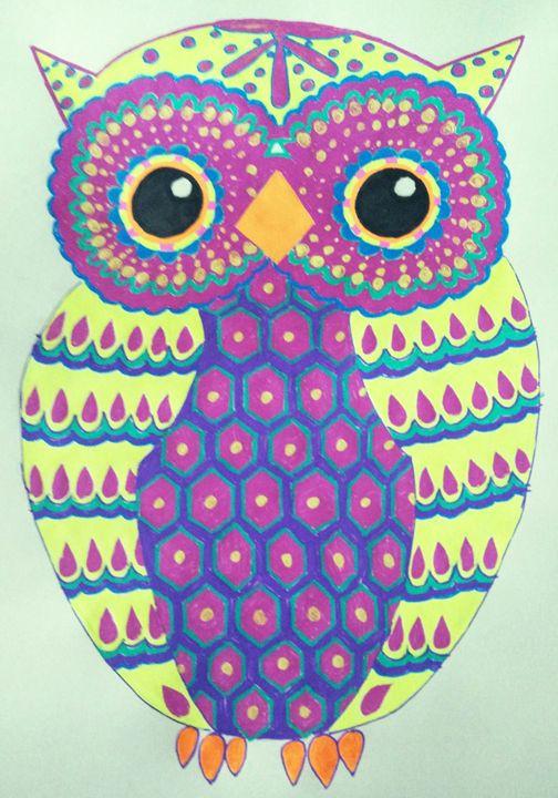 Owl doodle - Rohini Atresh