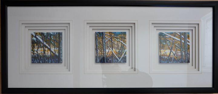 Acyrlic Woods by the Marsh 3 - John Kittson