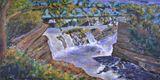 Original Acrylic Hogsback Falls