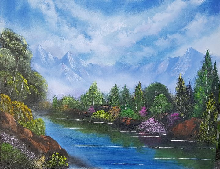'MOUNTAINS IN THE MIST' - Bobby Maldarelli's Paintings