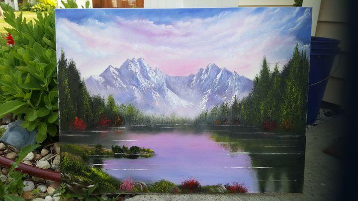 'CRIMSON LAKE' - Bobby Maldarelli's Paintings