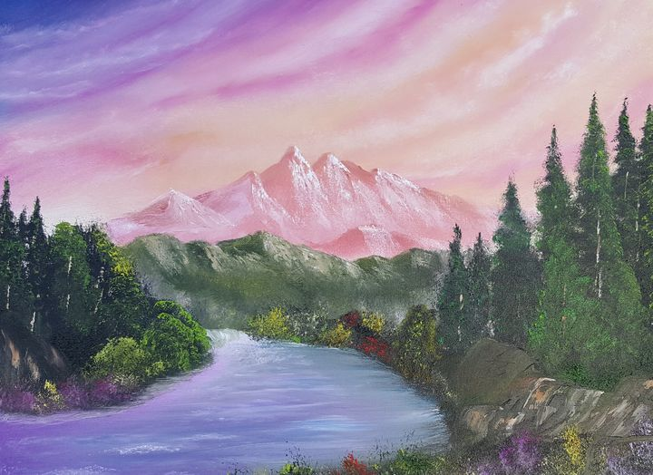'LOVE MOUNTIAN' - Bobby Maldarelli's Paintings