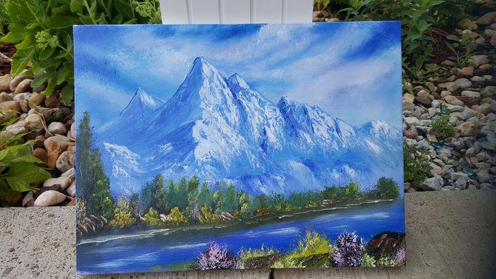 'MAJESTIC MOUNTIAN' - Bobby Maldarelli's Paintings