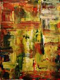 abstract painting 30x40cm
