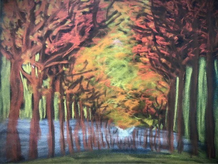 Autumn Trees - Mariam