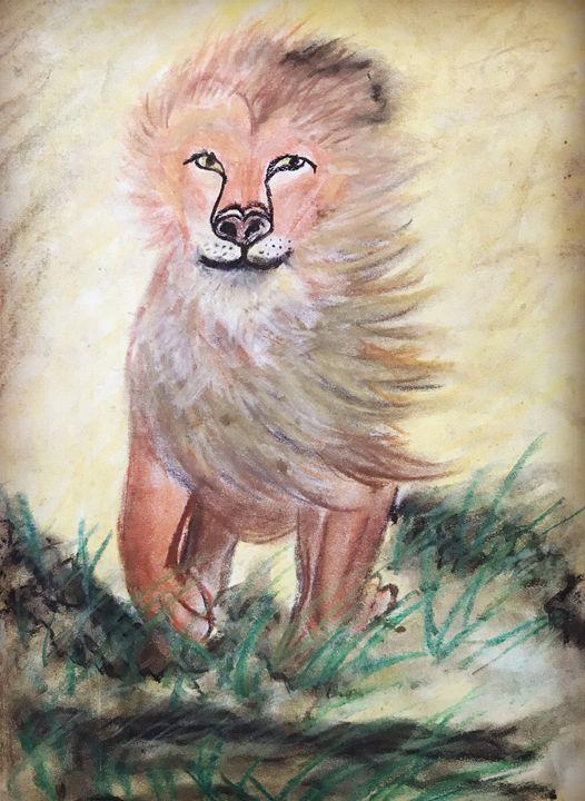 Running Lion - Mariam