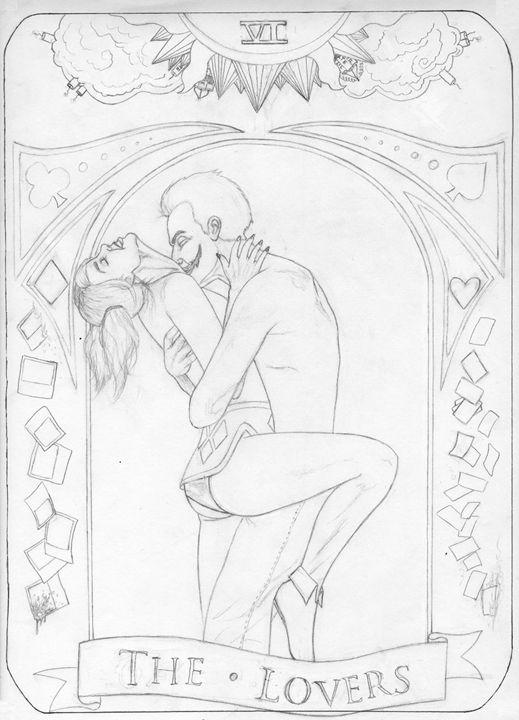 DC Comics Tarot Card WIP - GagaPotterTribute