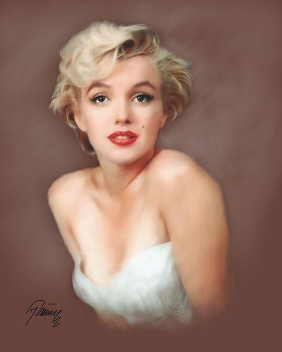 Marilyn Monroe - Jovica Petrovic Art