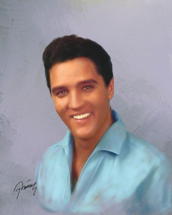 Elvis - Jovica Petrovic Art