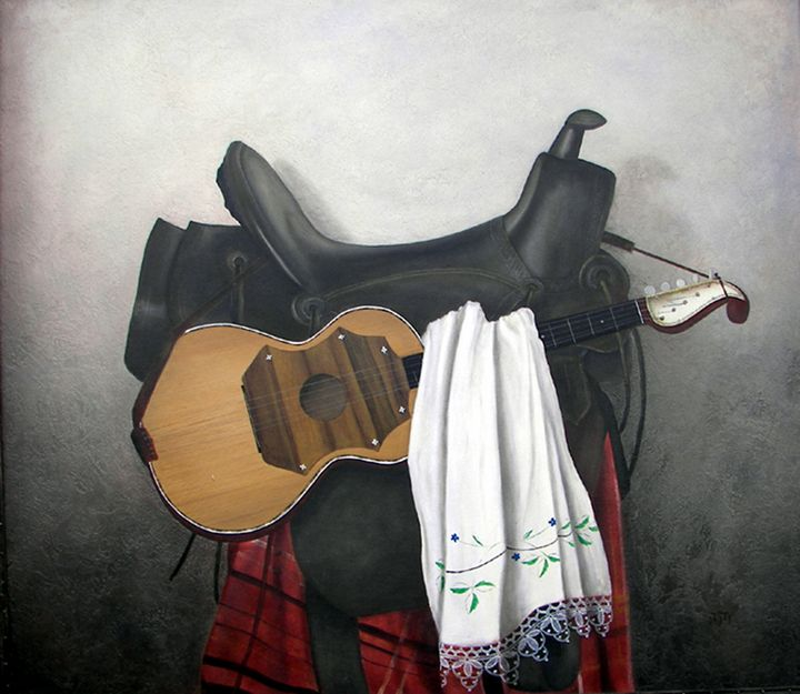 Tambura i sedlo - Jovica Petrovic Art