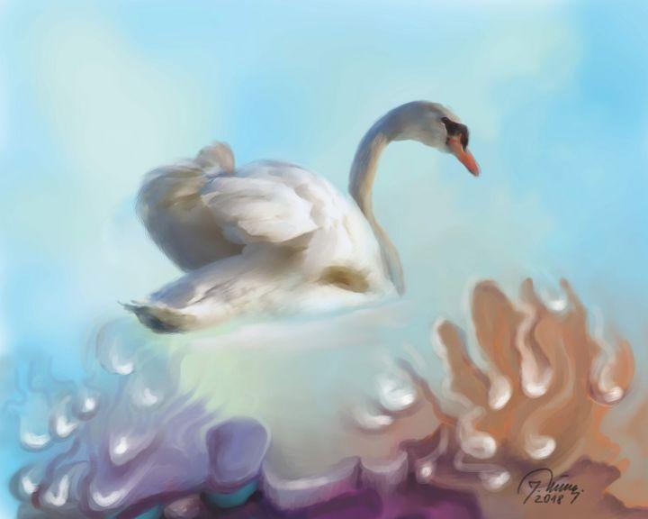 Swan - Jovica Petrovic Art