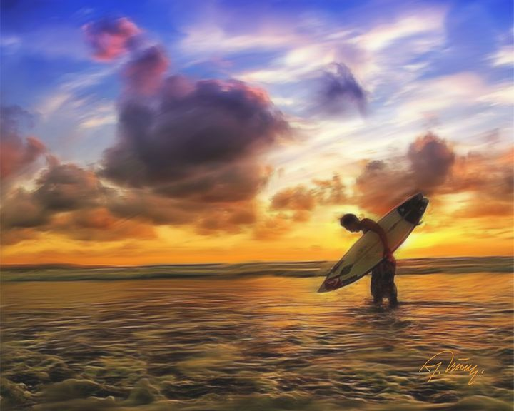 Surfer - Jovica Petrovic Art
