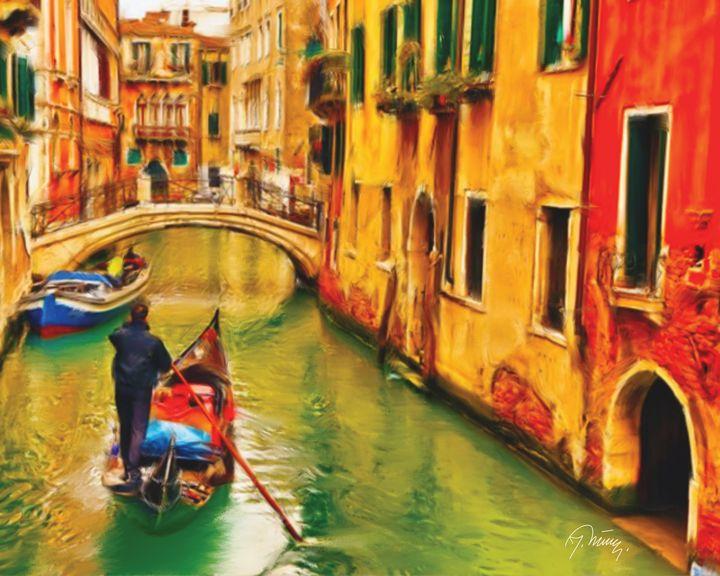 Kroz Veneciju - Jovica Petrovic Art