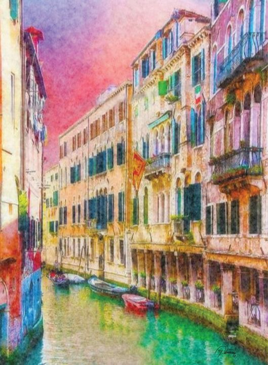 Motiv iz Venecije - Jovica Petrovic Art