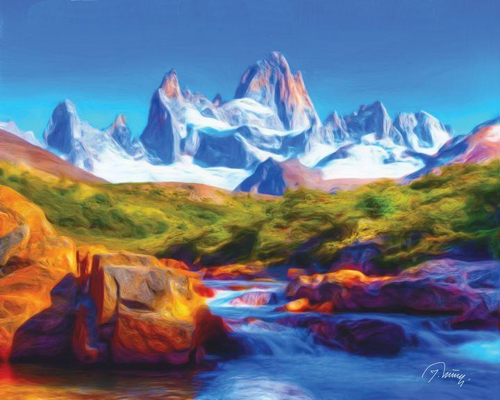 Planinski potok - Jovica Petrovic Art