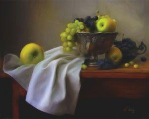 Groždje i jabuke - Jovica Petrovic Art