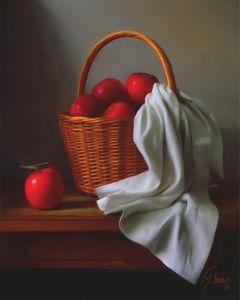 Korpa s jabukama