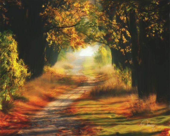 Šumski put - Jovica Petrovic Art
