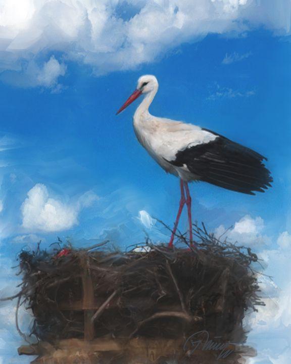 Stork - Jovica Petrovic Art