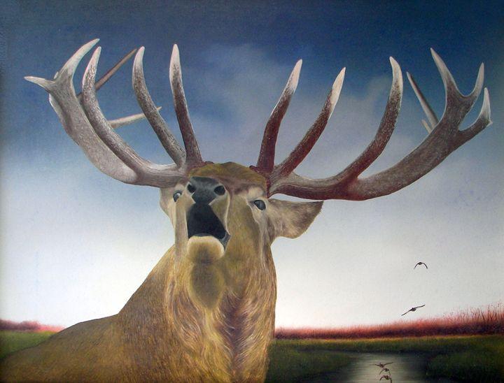 Deer - Jovica Petrovic Art