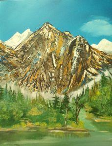 Mountain Glory & Lake