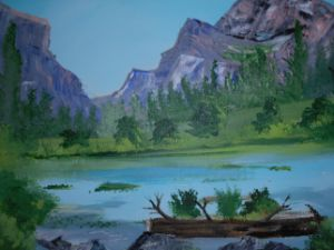 Quiet Trek Painting