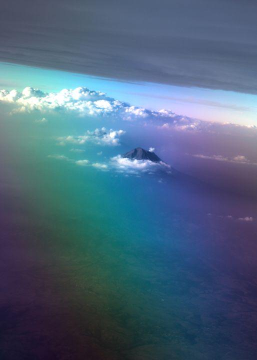 Mountain peak Peru - Jlow Art