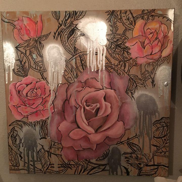 Roses - Jlow Art