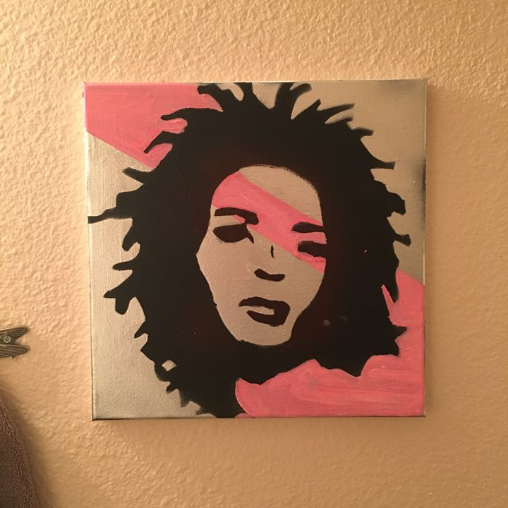 Ms Hill pink 12x12 - Jlow Art