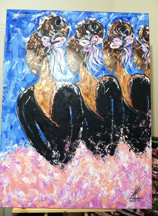 BLACK BALLERINAS - BEAUTIFUL CREATIONS 1966