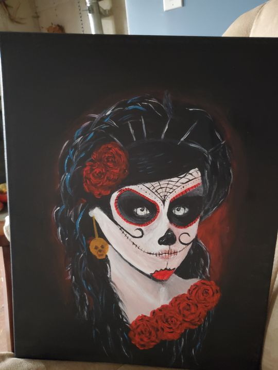 Day of The Dead - Rough Around the Edges Art