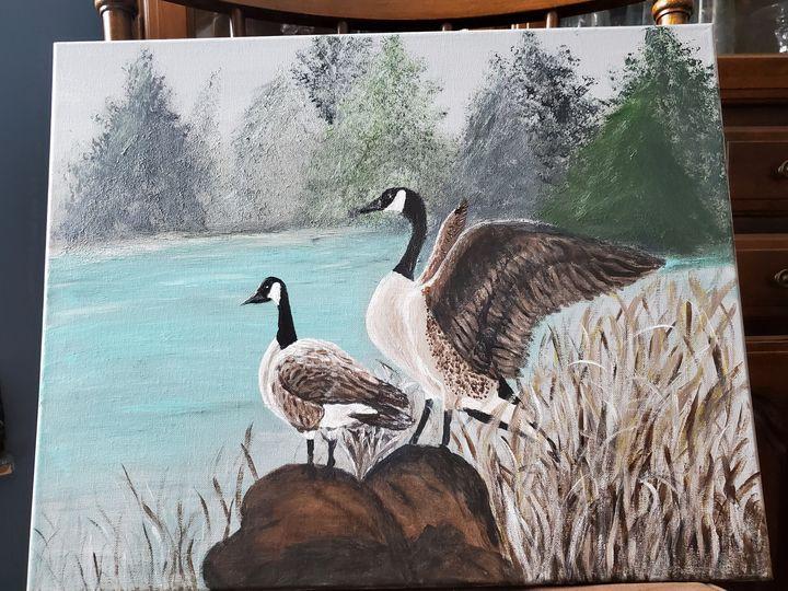 Geese - Rough Around the Edges Art