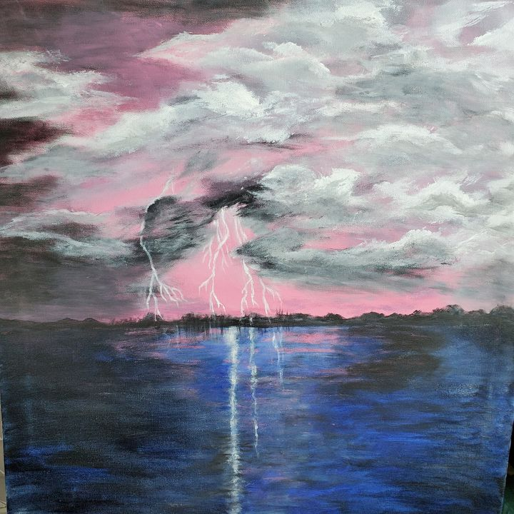 Lighting up The Heavens - Rough Around the Edges Art
