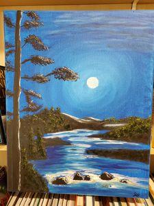 Blue Moon on the Creak