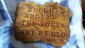 Rough Around the Edges Art