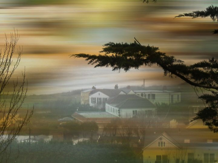 A Foggy  Day - Heathers Art