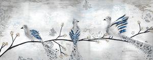 Three Birds on a branch - Vatsala Sinha