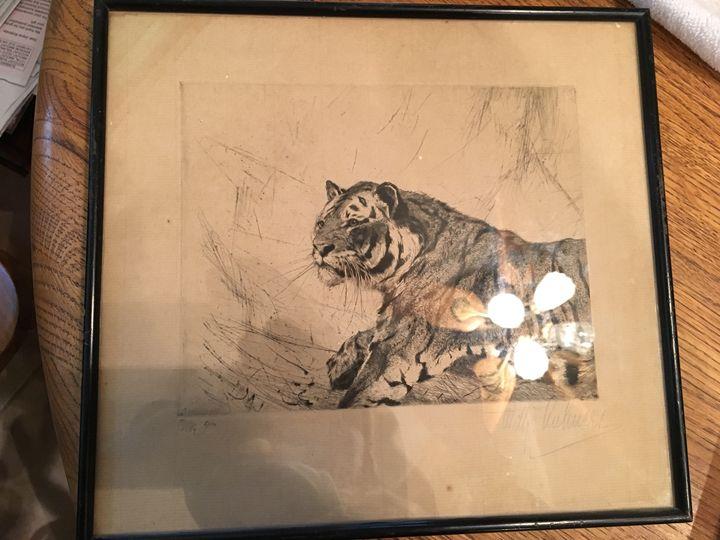 Kuhnert, Wilhelm's Tiger - Eric's Treasures
