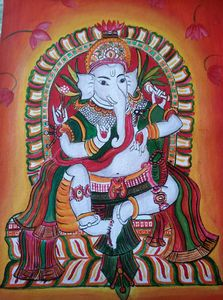 Original painting of lord Ganesh