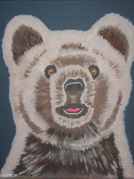 Fluffy bear - Coach Traeger