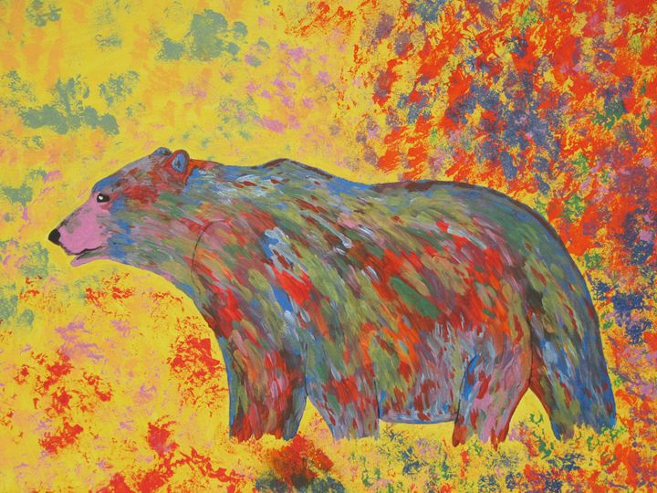 Bright bear - Coach Traeger